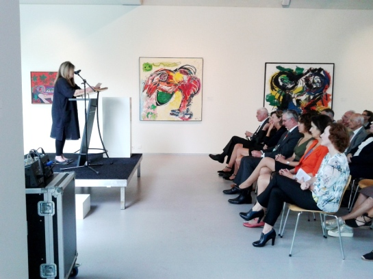2014 Opening Asger Jorn tentoonstelling  met o.a Jacqueline de Jong