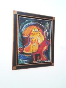 Zelfportret Asger Jorn Cobra Museum 2014 bruikleen jdj Melmoth II
