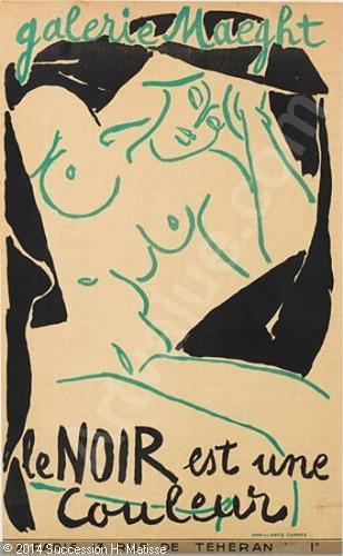 matisse-henri-1869-1954-france-galerie-maeght-le-noir-est-un-2561852