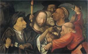 Bosch navolger arrestatie Christus