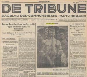Tijdbeeld van Harmen Meurs in de Tribune