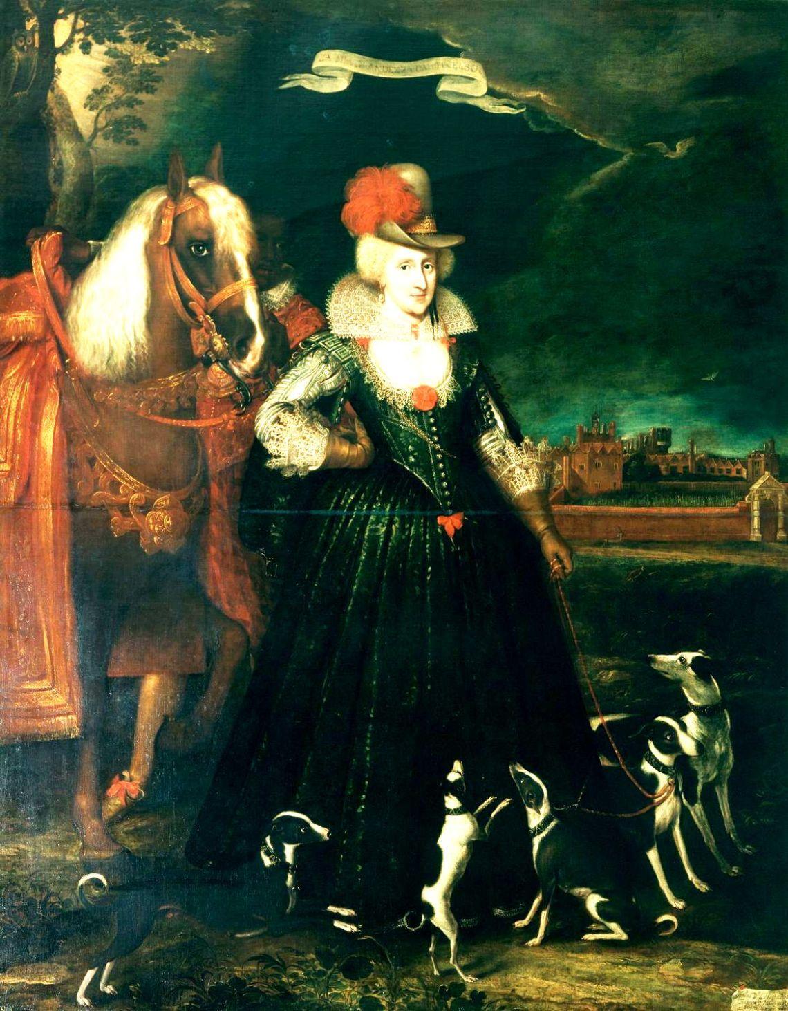Ann of Denmark Paul van Somer