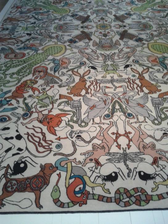 Textiel Museum Studio Job tapijt