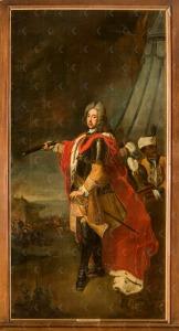 Eugenius van Savoye -Carignan 1736 mogelijk Johann Ludwig Tietz