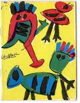 Karel Appel Cobra boekje