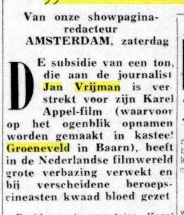 De telegraaf 25-11--1961