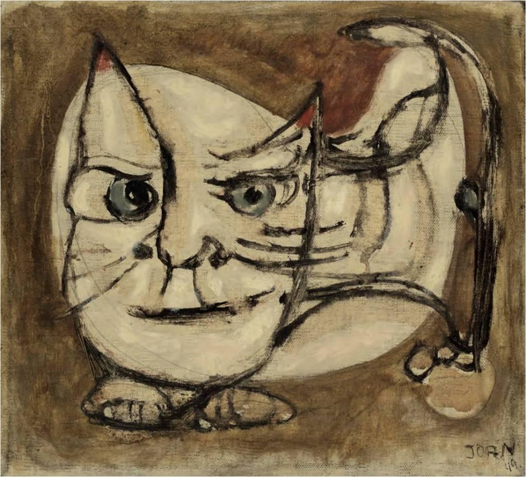 Watch Cat Asger Jorn