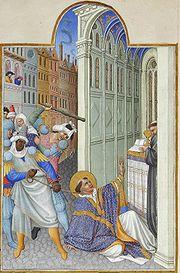 180px-folio_19v_-_the_martyrdom_of_saint_mark (2016_01_02 15_04_38 UTC)