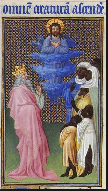 Limburg broers Davis en christus en andere all other beings