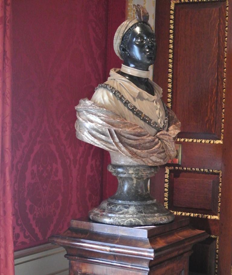 John Nost II Bust of an African man Kensington Palace