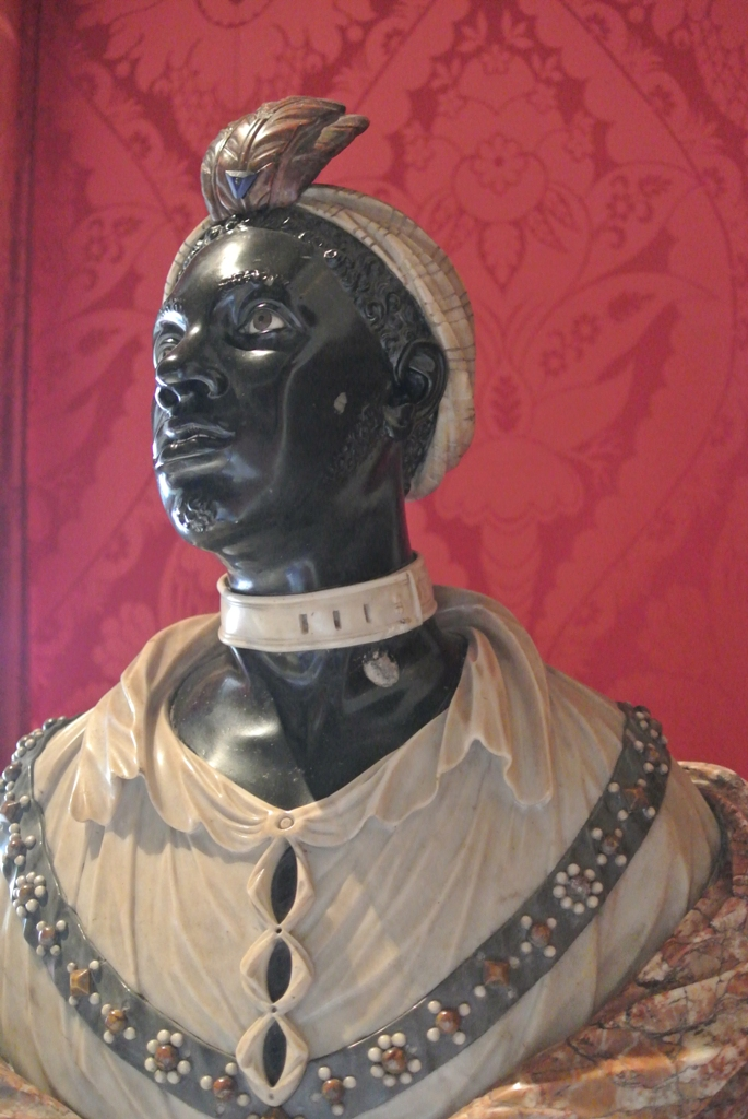 John Nost II Bust of an African man Kensington Palace