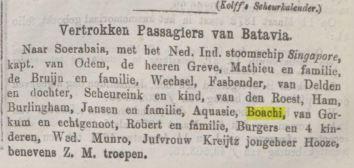 1874 vertrek naar Soerabaja Boachi