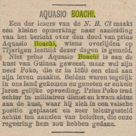 1904 sterfbericht Boachi
