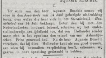 reactie op stuk Boachi 1871