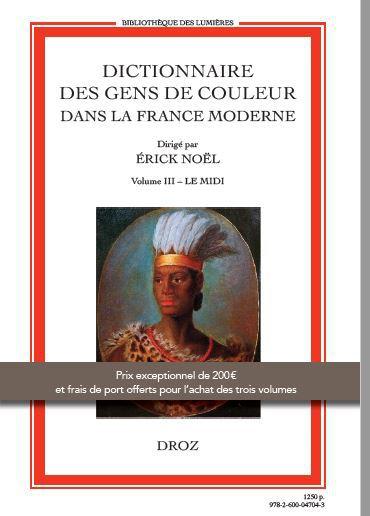 Dictionnaire des Gens de colour Midi