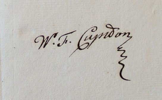 Mooie handtekening Cupido voor site