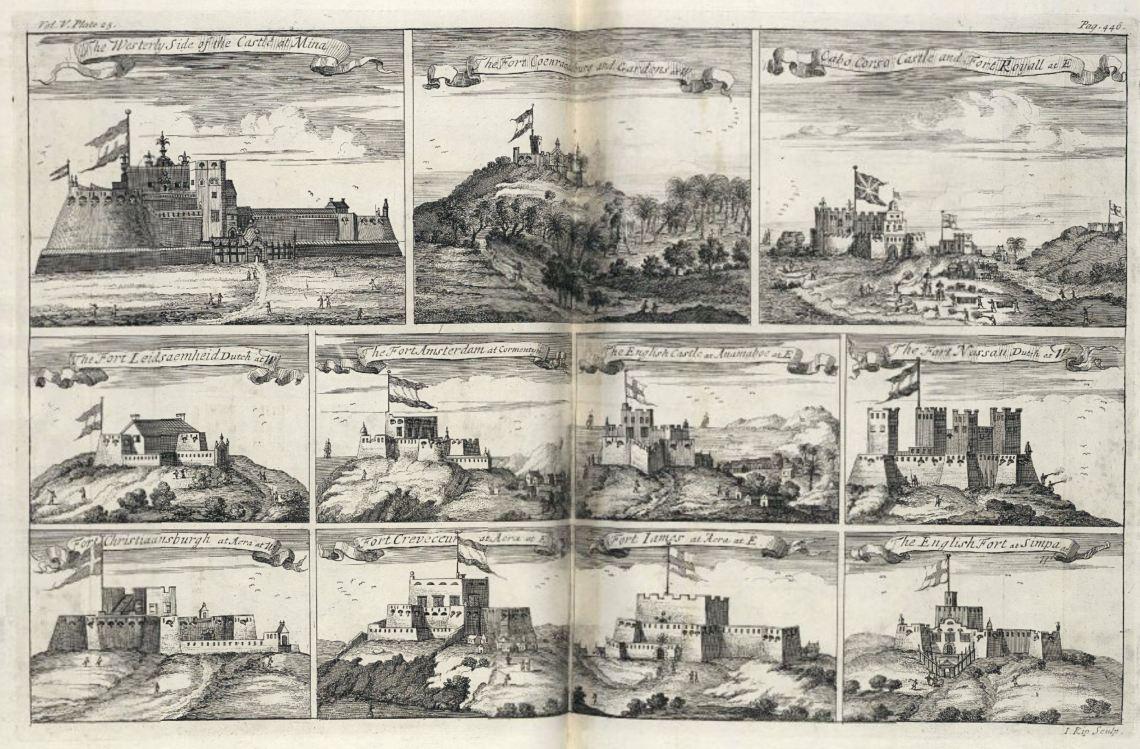 Europese forten aan de Afrikaanse kust