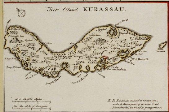 Katern 1 Curacao urn-gvn-SURI01-KAARTENZL-Bijzondere collecties Amsterdam