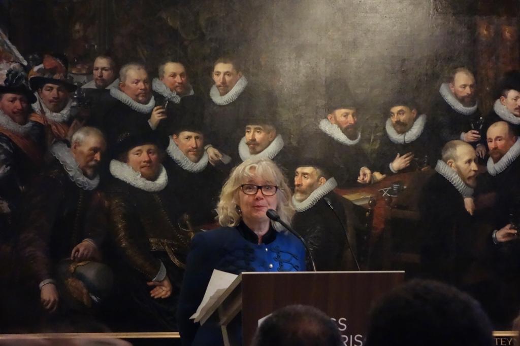 Opening Afrikaanse bedienden Den Haag Esther Schreuder