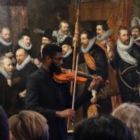 Opening Afrikaanse bedienden en presentatie Cupido en Sideron aan het hof van Oranje