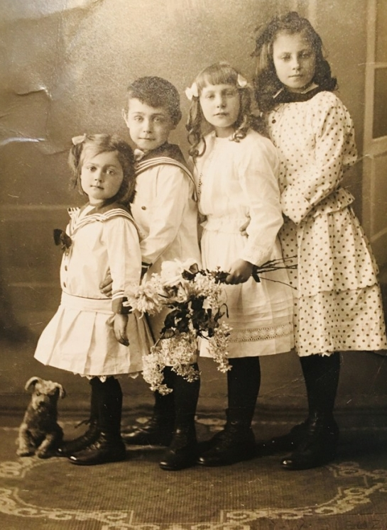 4 kinderen Jonkers