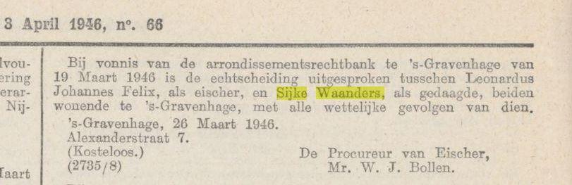 Waanders Felix