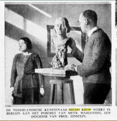 Hildo Krop dochter Einstein 1932