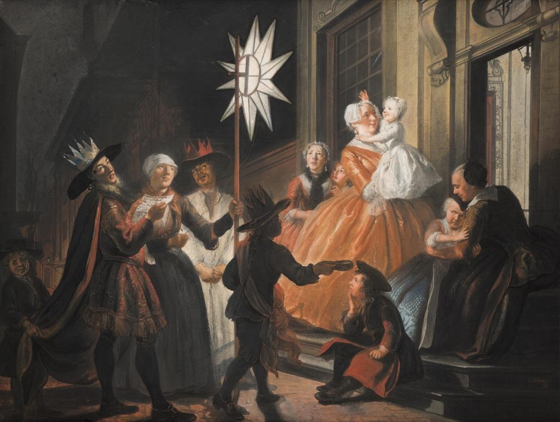 Driekoningen Troost Mauritshuis