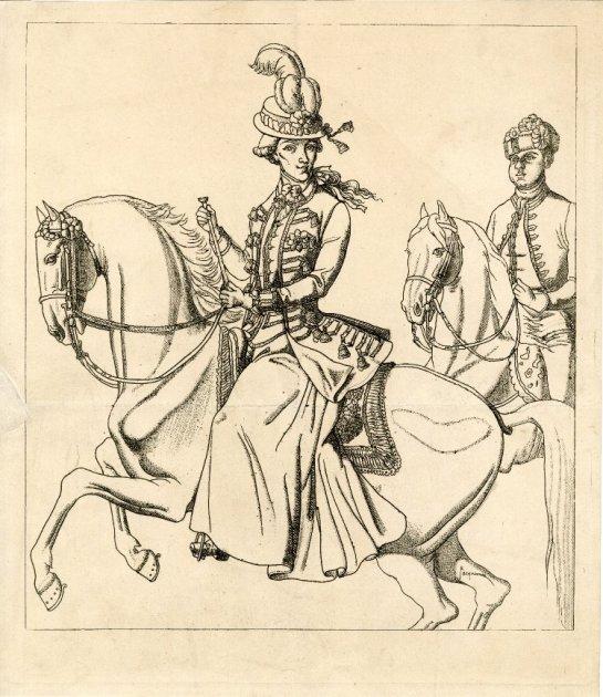 Wilhelmina van Pruisen met Cupido of Sideron BM