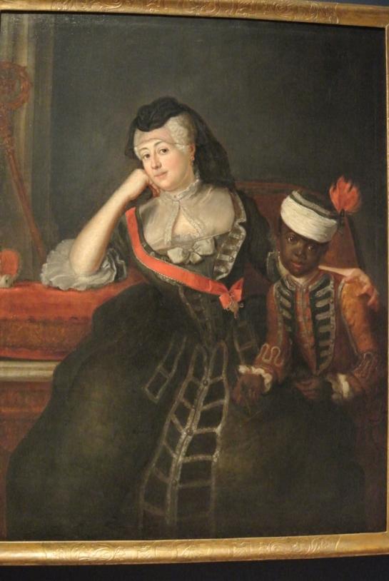 Johanna Charlotte of Anhalt Dessau with possibly Leopold.Städtischen Museum Herford