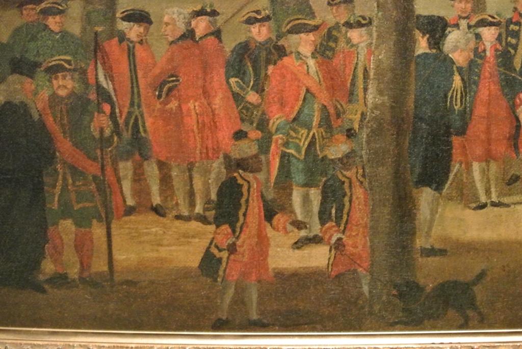 T.P.C. Haag, De schutterij op Het Loo, circa 1770, Stichting Edwina van Heek
