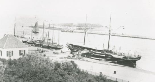 Den Helder 1859 stoomschip Het Loo
