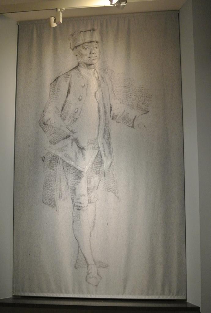 Banier met werk van Hendrik Pothoven Haags Historisch Museum