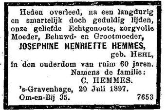 Josephina Hemmes - Hehl