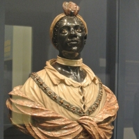 Bust of an African man ca 1700