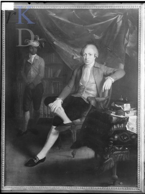 Adriaan Lelie Portret van Jan Gerhard Wichers (1745-1808), 1784 gedateerd