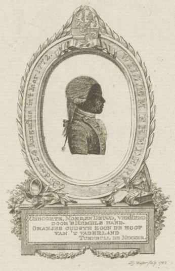 Willem I Frederik, Jan Gerritsz. Visser, William Pieter Turnbull de Mikker, Willem Coertse, 1785