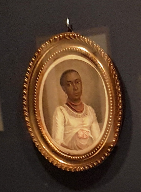 Miniature portrait of Christina, Benjamin Samuel Bolomey, undated. Private collection