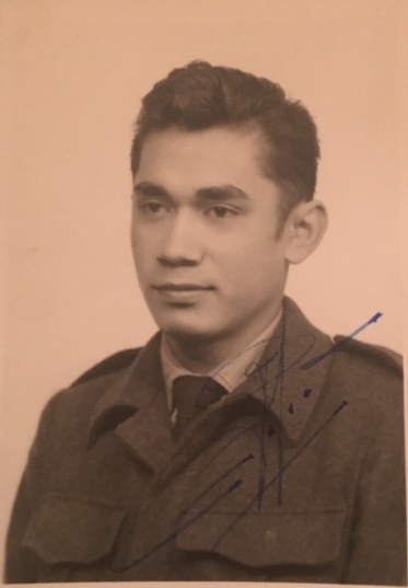 Robert Hehl bij luchtmacht 19 jaar