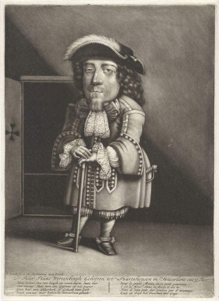Portret van Hans Worrenbergh, Pieter Schenk (I), 1670 - 1713