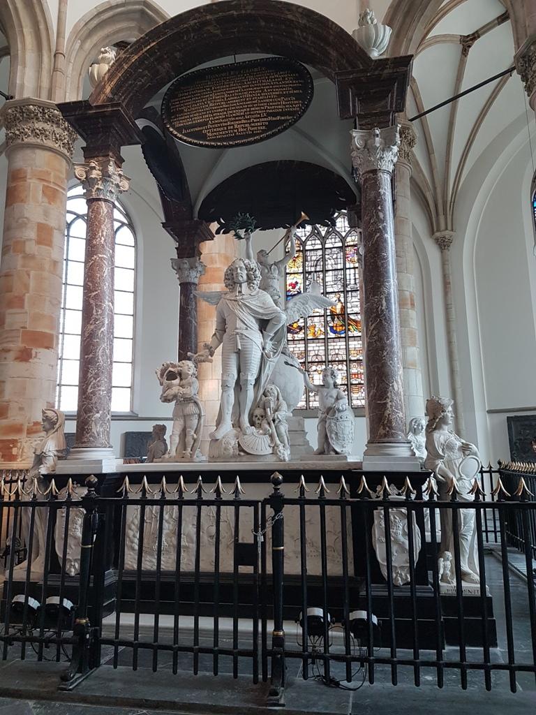 Jacob van Wassenaer door Bartholomeus Eggers in Grote Kerk van Den Haag