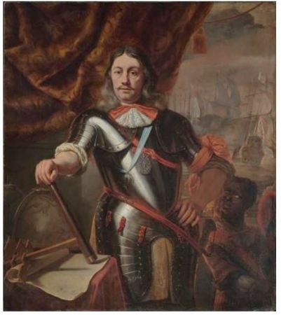 Cornelis Tromp circa 1667 door Ferdinand Bol.