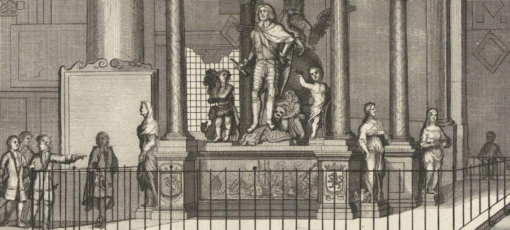 Praalgraf voor admiraal Jacob baron van Wassenaer van ObdamGerrit van Giessen, 1730 - 1736
