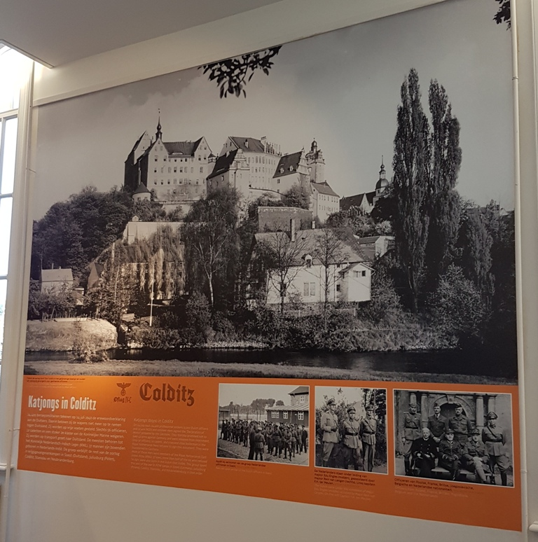 Katjongs in Colditz Museum Bronbeek Arnhem