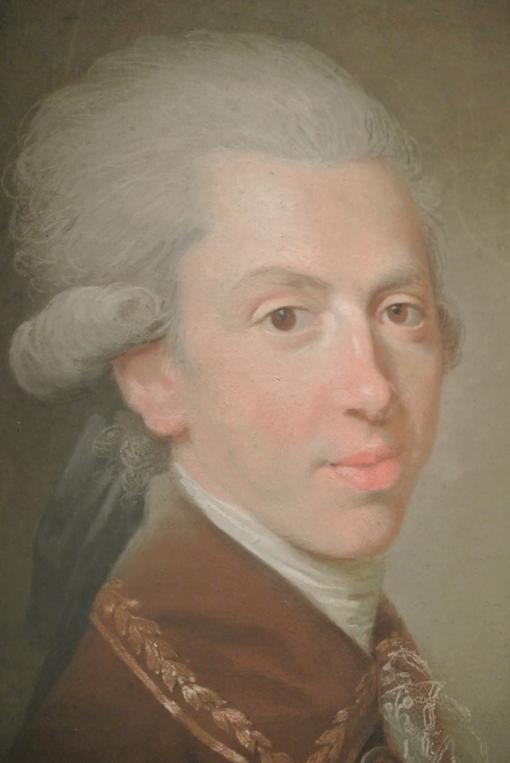 Johann Freidrich August Tischbein, Grand Duke Pavel Petrovich, (Tsar Paul I)