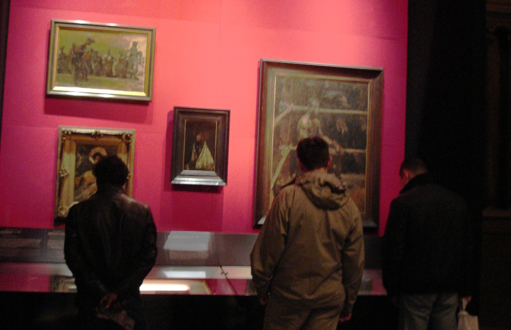 Publiek tijdens tentoonstelling