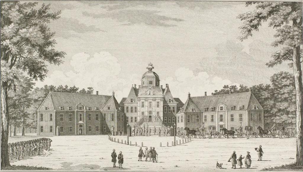 Audiëntie van de Personele Commissie op Huis ten Bosch, 1782, Cornelis Bogerts, naar Hendrik Pothoven, 1782RP-P-1944-1925