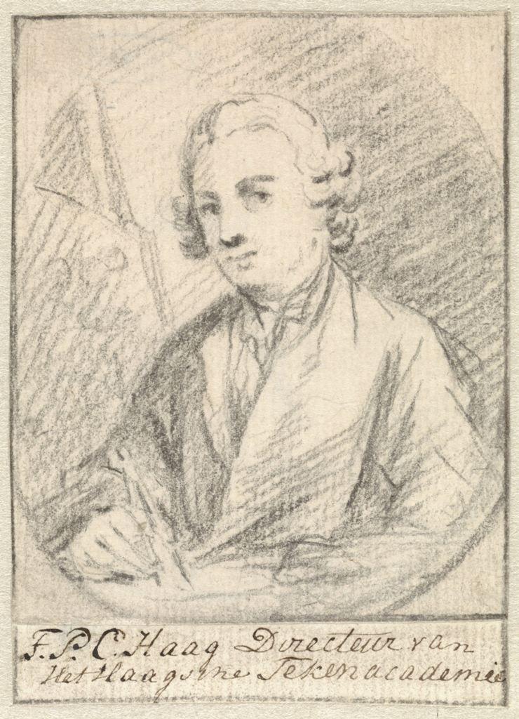 Zelfportret Tethart Philip Haag Rijksmuseum RP-T-1940-428