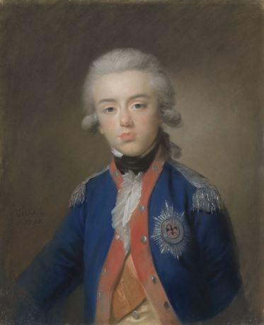 Willem George Frederik (Frederik; 1774-99), prins van Oranje-Nassau. Zoon van prins Willem V, Johann Friedrich August Tischbein, 1788
