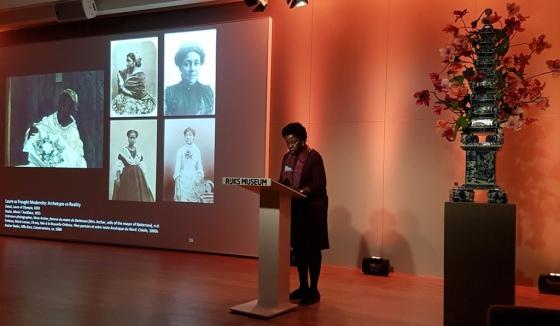 Nacht van de geschiedenis Rijksmuseum 2019 Denise Murrell